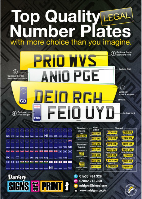 NumberPlate Poster